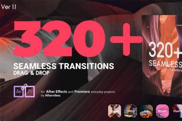 AE转场模板-Videohive Transitions V1.1