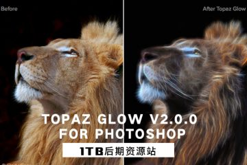 PS插件-光效光晕工具 Topaz Glow v2.0.0 for Photoshop